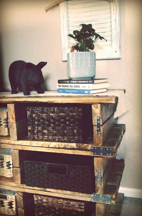 Bricolage on pinterest - Fabriquer une commode en bois ...