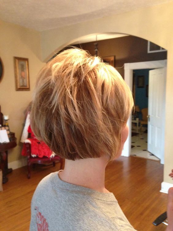 Short Haircut by Tamara E. Dossett of KY