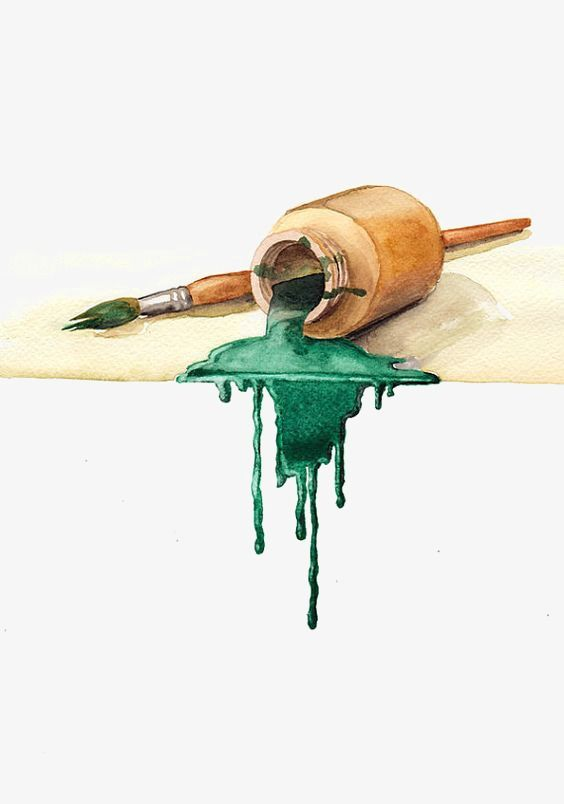 Watercolor Pen In 2020 Watercolor Paintings Art Art Drawings