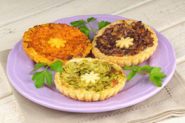 Mini Quiche de Abobrinha
