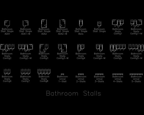 AutoCAD Detail Bathroom Arch Drafting ADA Codes And More Pi