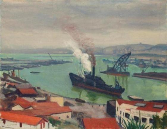 Albert Marquet, Cargo sortant du port