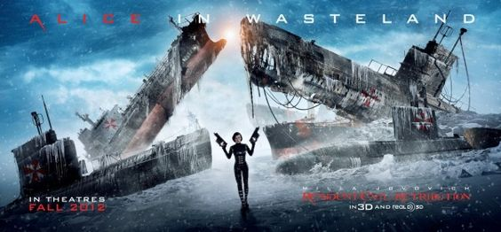 New Poster  Resident Evil: Retribution