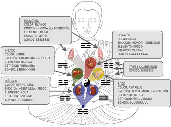 TODAS LAS RECETAS : . Los Seis Sonidos Sanadores y sus correlaciones.