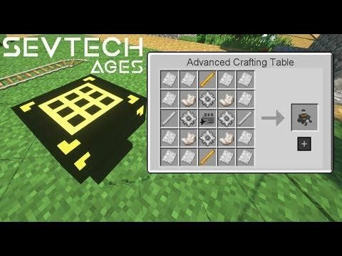 5x5 Mega Crafting Table Extended Crafting 51 Sevtech Ages
