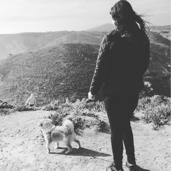 Cão e a sua mulher