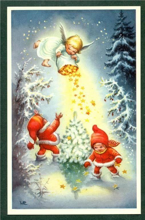 Lars Carlsson, (1921-2002). E' stato un illustratore svedese, meglio conosciuto per la sua vasta produzione di carte di Natale e biglie...