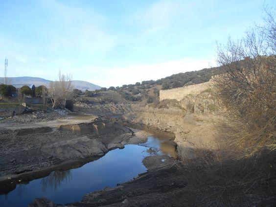Rio Lozoya bajo. Diciembre 2015