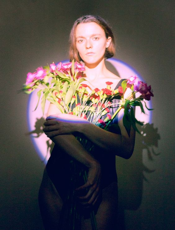 https://flic.kr/p/Ptz3hy | Untitled | A long day in the studio with some flowers and a flashlight.  model: @moniquejuliettebaron  styling: @errmine