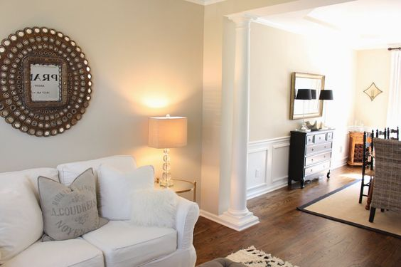 "Clay Beige by Benjamin Moore The perfect ""greige"