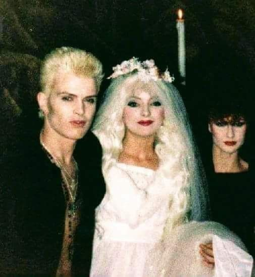 The Concept Of White Wedding Is Extremely Interesting Billy Never Got Married And Said He Never Would But Neve In 2020 White Wedding Dresses White Wedding Billy Idol