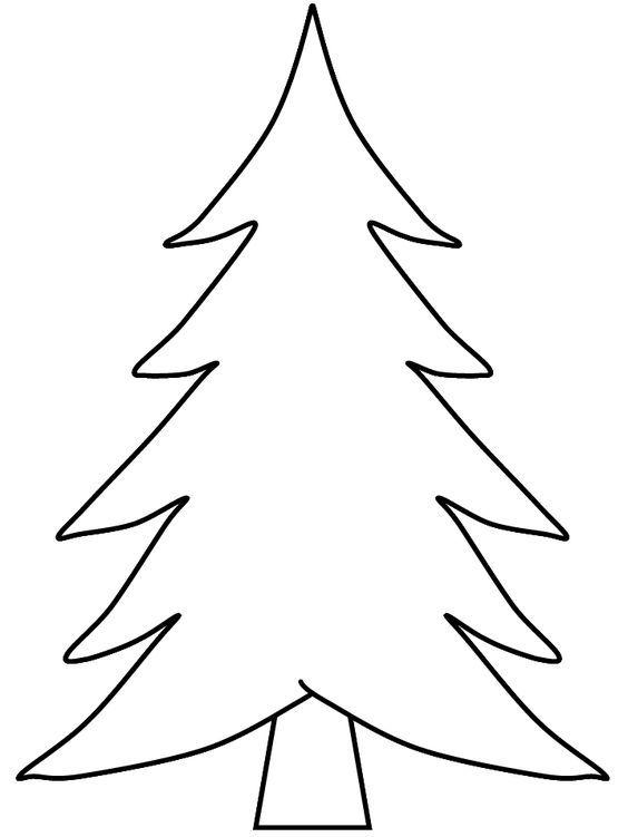 Christbaum Weihnachtsbaum Zeichnen Malen Malvorlagen Weihnachtsvorlagen Tannenbaum Vorlage Weihnachtsbaum Schablone