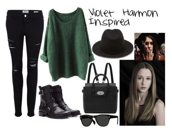 """American Horror Story - Violet Harmon Inspired"" by onedirection-littlemix-lover ❤ liked on Polyvore:"