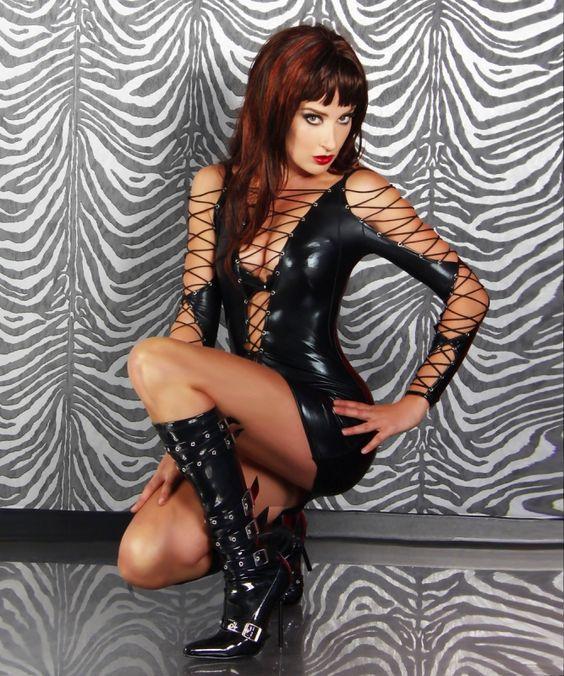 #Wetlook #Minikleid-11620 - My-Kleidung Onlineshop