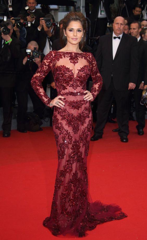 Pin for Later: Wir zählen die Tage bis zum Filmfest in Cannes mit den besten Looks 2013: Cheryl Cole in Zuhair Murad
