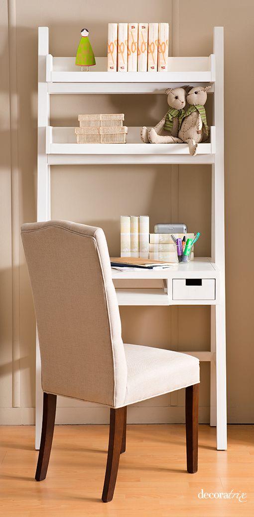 Mueble escritorio banak room pinterest espacio - Muebles para balcon pequeno ...