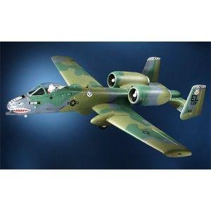 Aeromodelo A-10 Warthog Twin Ducted Fan Jet