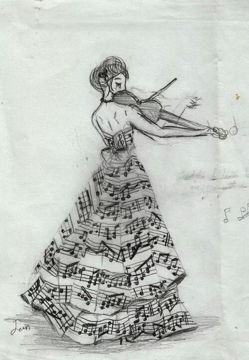 Musica Inspiradora Arte Y Musica Produccion Artistica Musica Dibujos