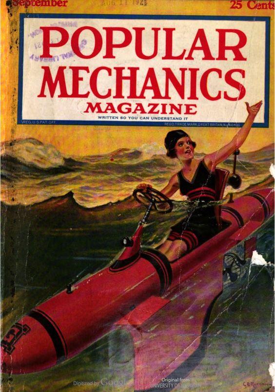 """Popular Mechanics Magazine, September 1921. """"Written So"""
