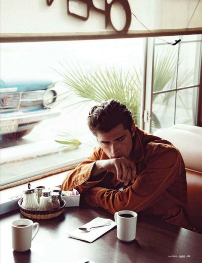 Sean O'Pry for GQ Germany