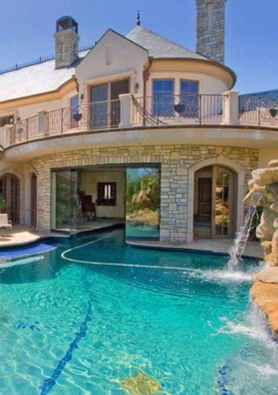 Dream House Main Bighousesmansions Luxury Pools Luxury Homes Dream Houses Mansions
