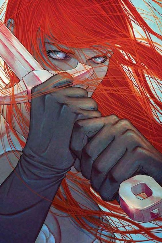 Red Sonja #12 - Cover by Jenny Frison #barbarian #fighter