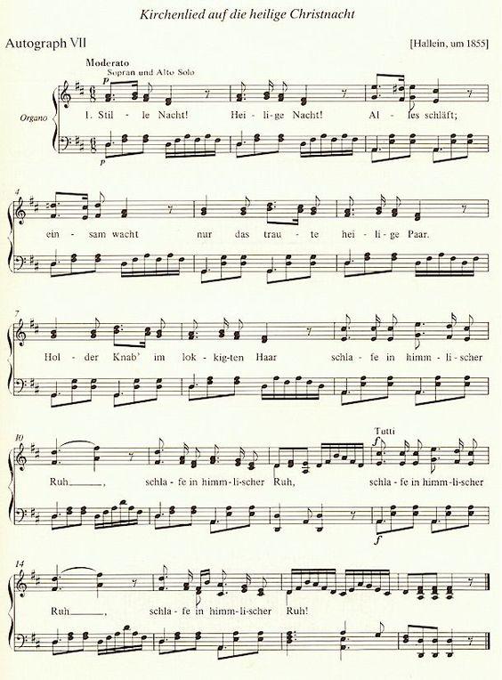 Autograph VII (Hallein um 1860) Quelle: Denkmäler der Musik in Salzburg Band 4, S.17 (Copyright: Comes Verlag) Klicken Sie auf das Bild um das Dokument in Originalgröße anzuzeigen (104 KB)