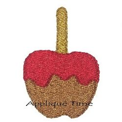 Candy Apple - 2 Styles! | Mini Designs | Machine Embroidery Designs | SWAKembroidery.com Applique Time