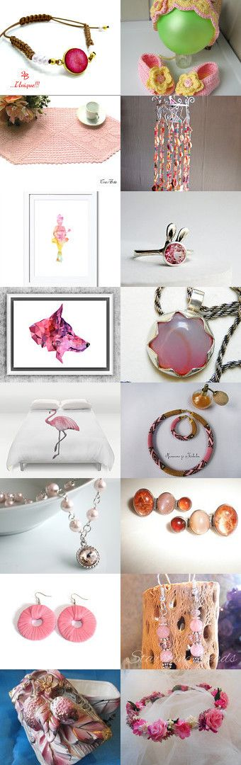 ❤Pretty in PINK❤ by Myra Graham on Etsy--Pinned+with+TreasuryPin.com