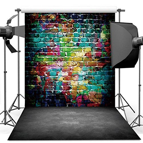 Dudaacvt Graffiti Photography Backdrop 10x10 Ft Colorful Https Www Amazon Com Dp B07bnbs367 Ref Cm Graffiti Photography Cement Floor Photography Backdrop