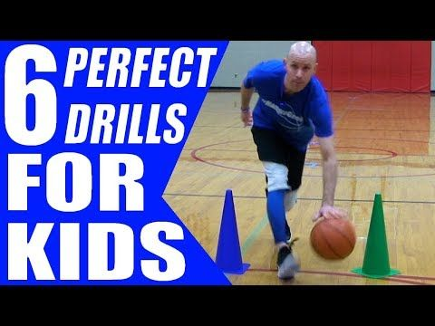 6 Perfect Basketball Drills For Kids Dribbling Drills For