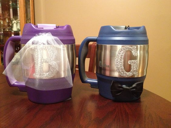 Homemade Wedding Gift Ideas For Bride And Groom: Destination Wedding Bubba Keg For The Bride And Groom! DIY