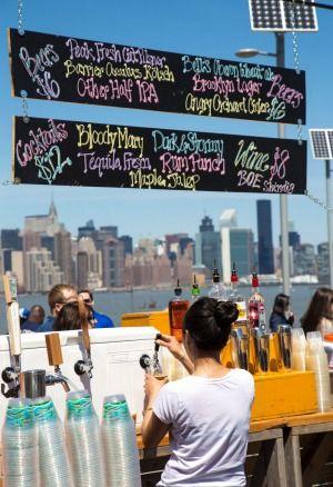 Smorgasburg Brooklyn Flea Food Market NYC.