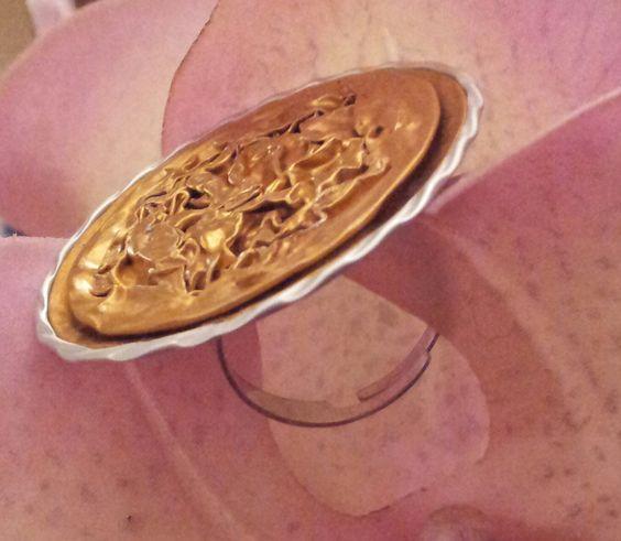 From nespresso's capsules into a ring http://ricreazione123.blogspot.it/