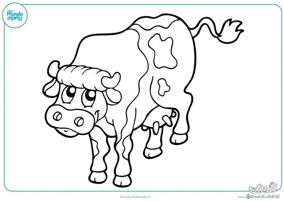 حيوانات المزرعة للتلوين للاطفال صور حيوانات المزرعة للتلوين Farm Animal Colouring Fictional Characters Art Character