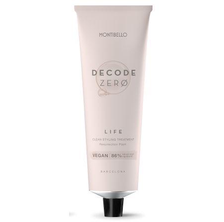 tubo de crema de peinado Decode Zero de Montibello.
