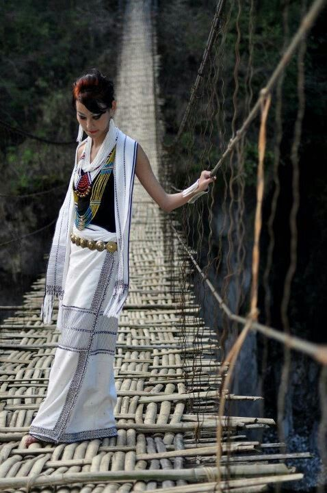 Arunachal pradesh tribes/ Galo girl in traditional attire ...