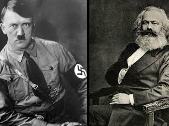 Eu tirei:9 de 9!  - Quem disse isso: Hitler ou Marx
