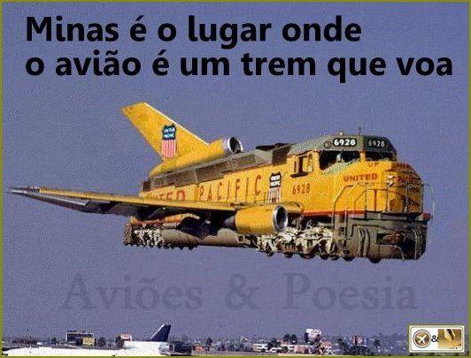 Trem de Minas!