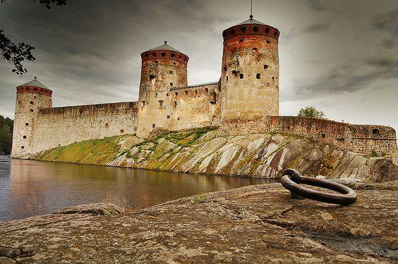 Olavinlinna Castle in Finland: Castle Finland, Architecture Buildings, Olavinlinna Finlandia, Castles Cathedrals, Olavinlinna Castle, Medieval Castles, Castles Palaces, Medieval Architecture