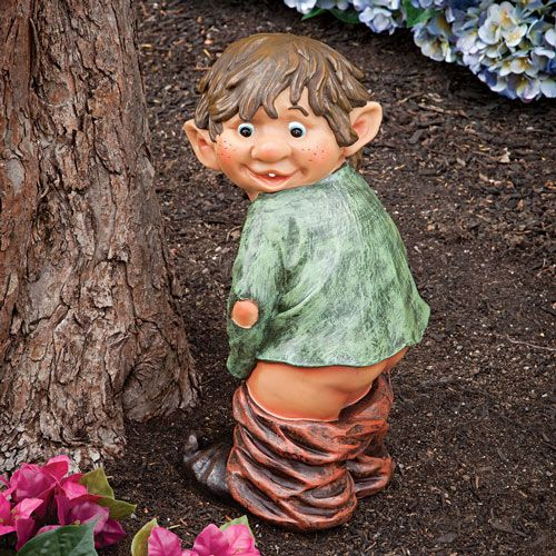 Tounge troll stone garden ornament /</<VISIT MY SHOP/>/>