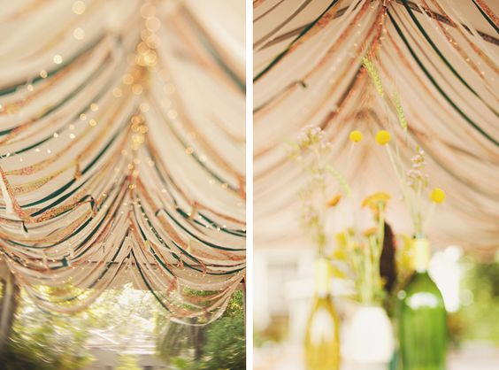 benachi house wedding - tent options - rain possibility