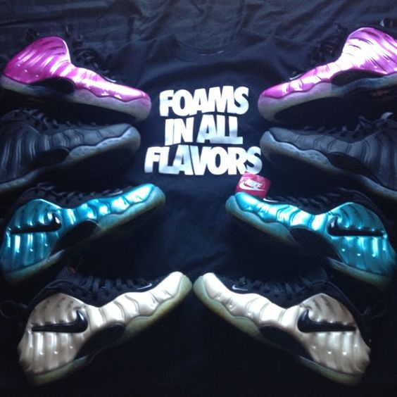 Nike Air Foamposite One #sneakers #nike #foamposite