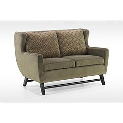 @Overstock - A modern design and durable, corner-blocked wood construction ensures this love seat will retain it's beauty for years to come. The soft chenille fabric adds softness and warmth to this handsome love seat.http://www.overstock.com/Home-Garden/Modern-Olive-Fabric-Love-Seat/5291485/product.html?CID=214117 $864.99