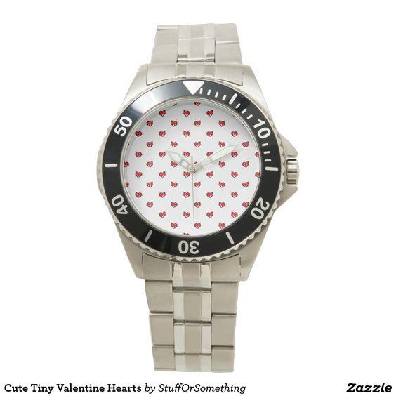 Cute Tiny Valentine Hearts Watch