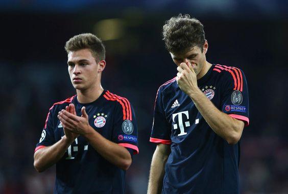 Mund abputzen, weiter geht's! Die Chance auf eine Revanche gibt's in 2 Wochen zu Hause in der Allianz Arena.