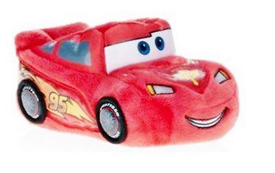 Disney Pixar Cars Lightning McQueen Infant/Toddler Boys Slippers Medium Size 7/8  $19.50