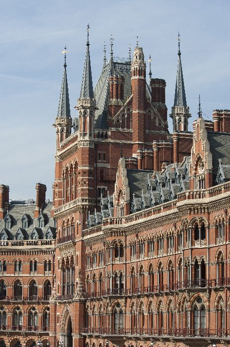 St. Pancras Renaissance (formerly, Midland Grand) Hotel, London