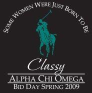 Alpha Chi Omega ~ Bid Day
