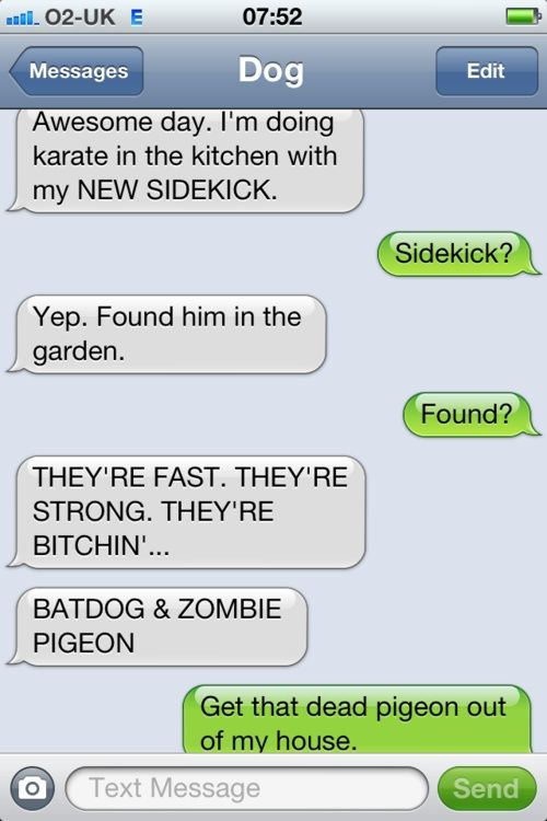 lol: Funny Texts, Dog Texts Funny,  Website, Texts From Dog, Dog Texts Messages, Batdog Texts, Dogs Texting, Funny Dog Text, Zombie Pigeon